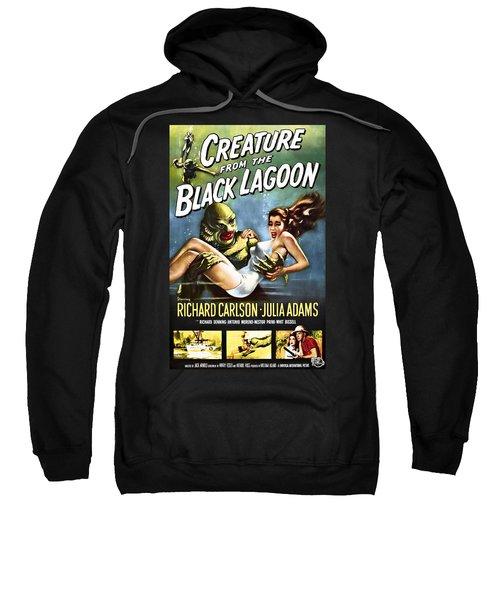 Creature From The Black Lagoon Lobby Poster 1954 Sweatshirt