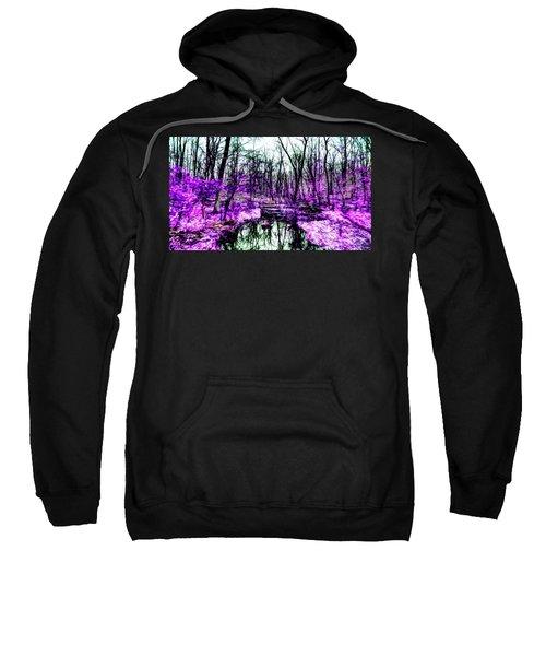 Creek By Purple Sweatshirt