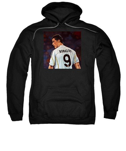 Cristiano Ronaldo Sweatshirt by Paul Meijering