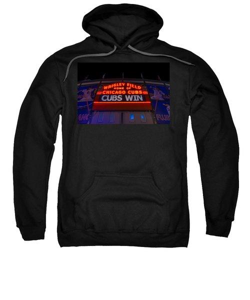 Cubs Win Sweatshirt by Steve Gadomski