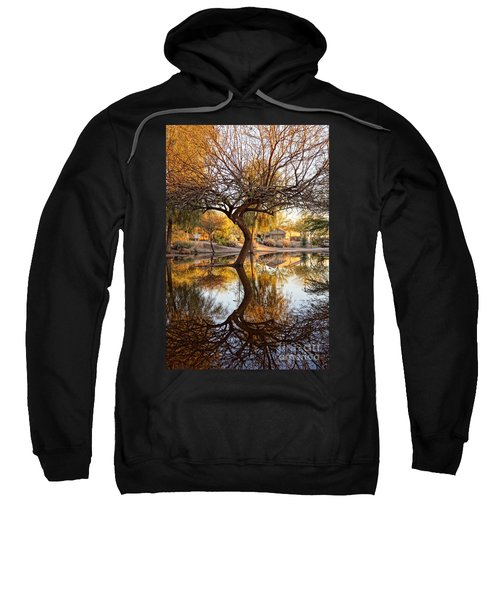 Curved Reflection Sweatshirt