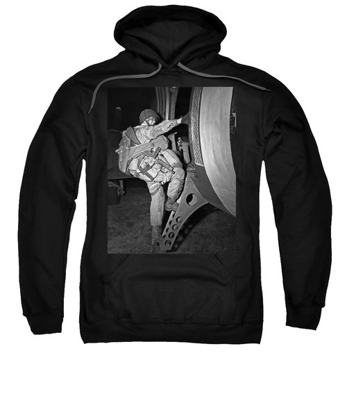 D-day Paratrooper Ready Sweatshirt