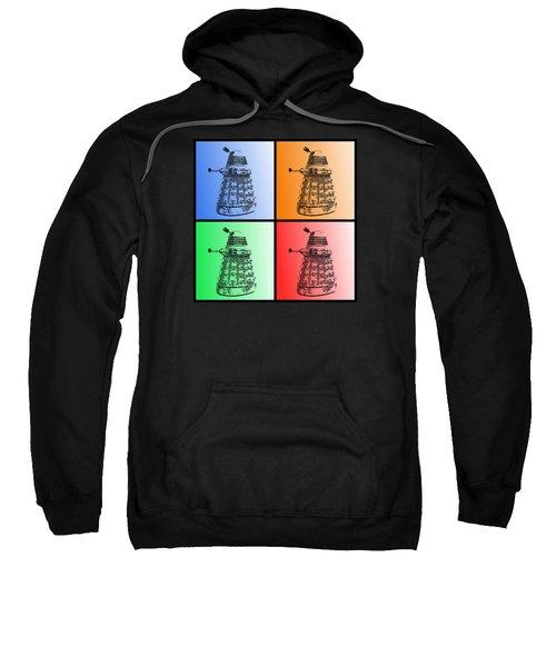 Dalek Pop Art Sweatshirt
