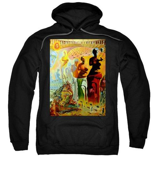 Dali Oil Painting Reproduction - The Hallucinogenic Toreador Sweatshirt