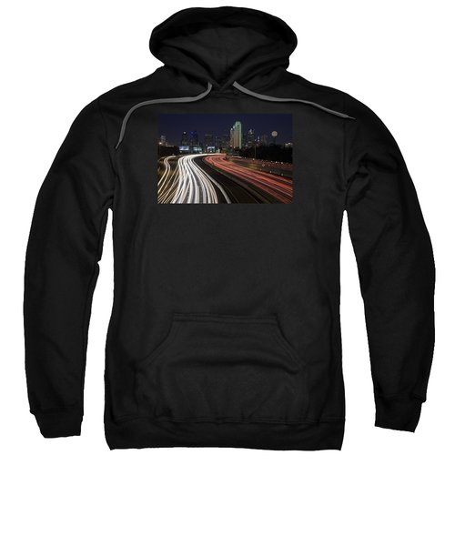 Dallas Night Sweatshirt by Rick Berk