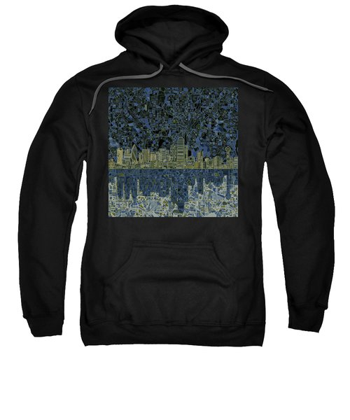 Dallas Skyline Abstract 2 Sweatshirt