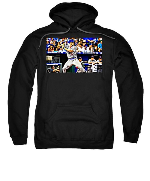 David Wright Painting Sweatshirt