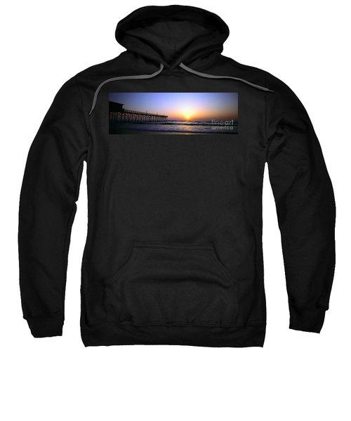 Daytona Sun Glow Pier  Sweatshirt
