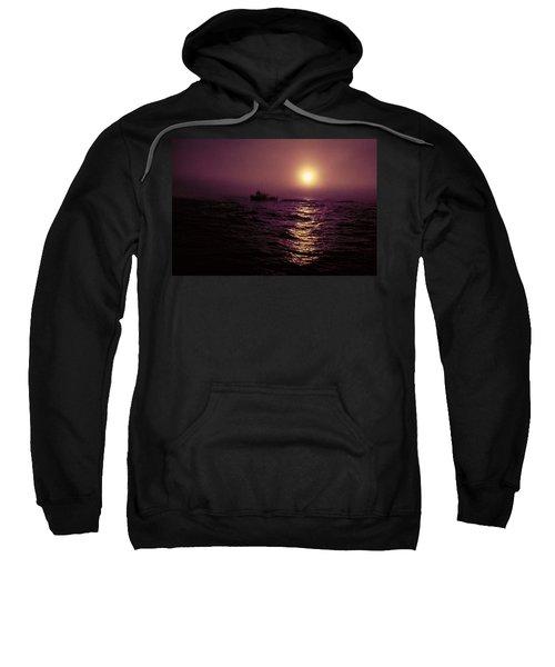 Deep Sea Fishing Off West Port Wa II Sweatshirt
