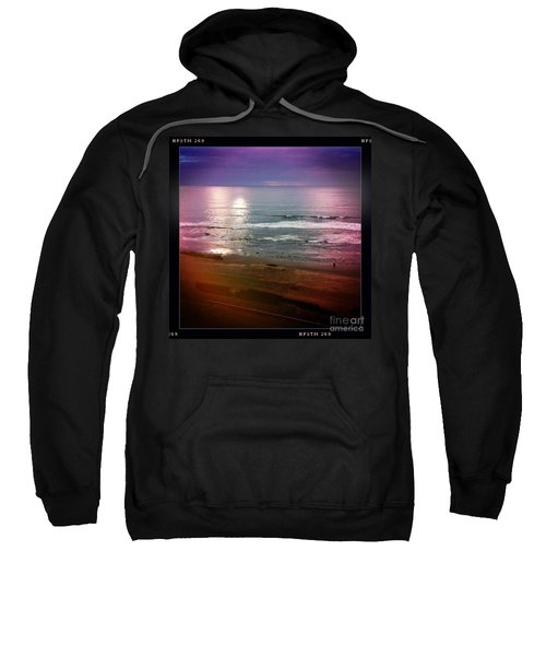 Sweatshirt featuring the photograph Del Mar by Denise Railey