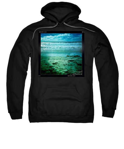 Sweatshirt featuring the photograph Del Mar Glow by Denise Railey