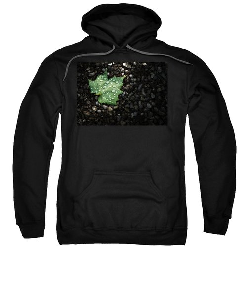 Dew On Leaf Sweatshirt