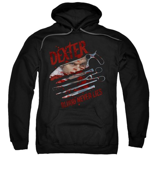 Dexter - Blood Never Lies Sweatshirt