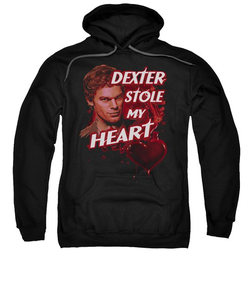 Dexter - Bloody Heart Sweatshirt