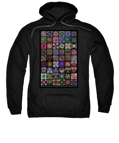 Dingbat Quilt Sweatshirt