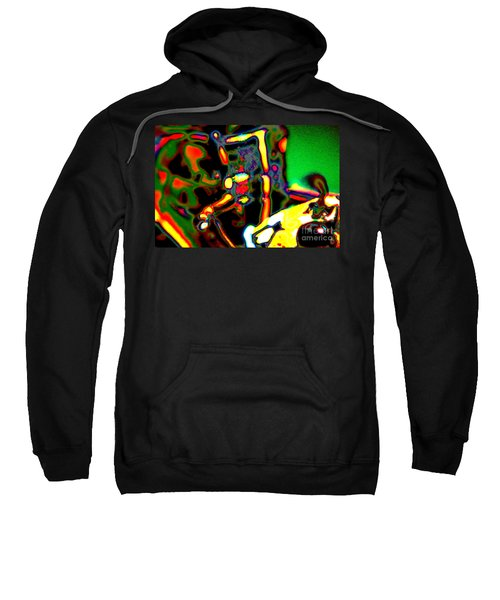 Sweatshirt featuring the photograph Distractions by Kim Pate