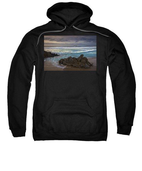 Doninos Beach Ferrol Galicia Spain Sweatshirt