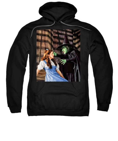 Dorothy And The Wicked Witch Sweatshirt