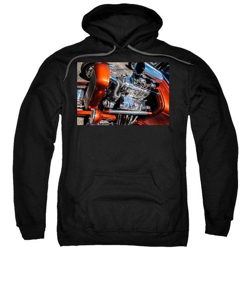 Drag Queen - Hot Rod Blown Chrome  Sweatshirt