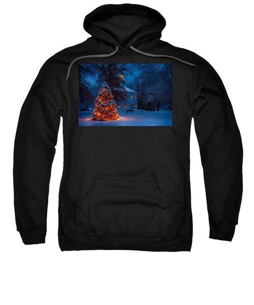 Christmas At The Richmond Round Church Sweatshirt