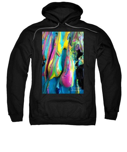 Dripping Paint #3 Sweatshirt