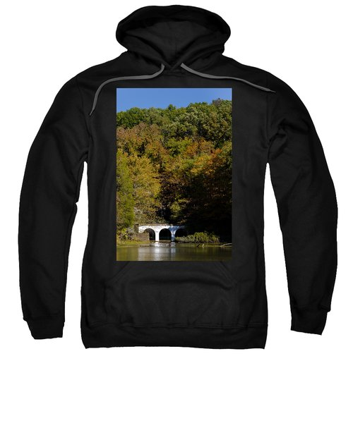 Dunbar Cave And Swan Lake Sweatshirt