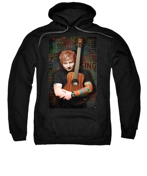Ed Sheeran And Song Titles Sweatshirt