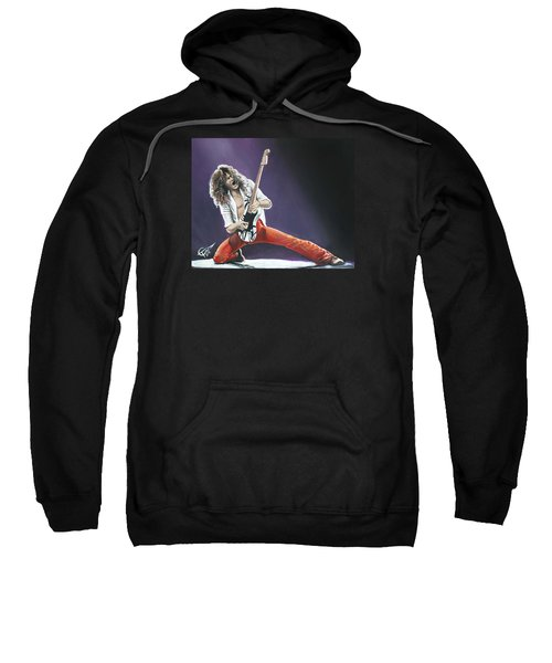 Eddie Van Halen Sweatshirt by Tom Carlton
