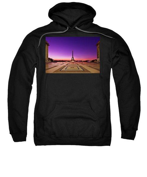 Eiffel Tower At Dawn / Paris Sweatshirt