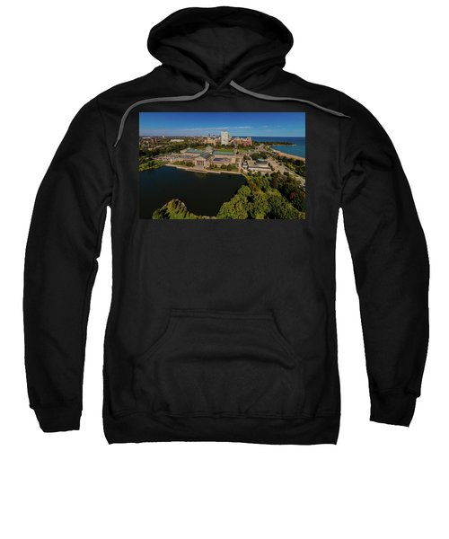 Elevated View Of The Museum Of Science Sweatshirt