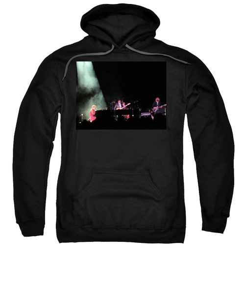 Elton And Band Sweatshirt by Aaron Martens