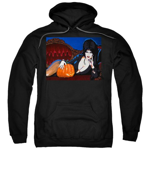 Elvira Dark Mistress Sweatshirt
