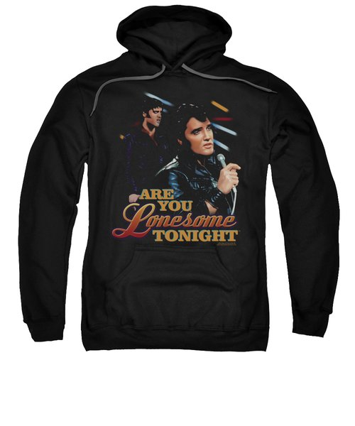 Elvis - Are You Lonesome Sweatshirt