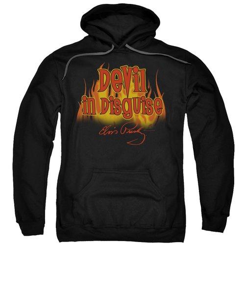Elvis - Devil In Disguise Sweatshirt