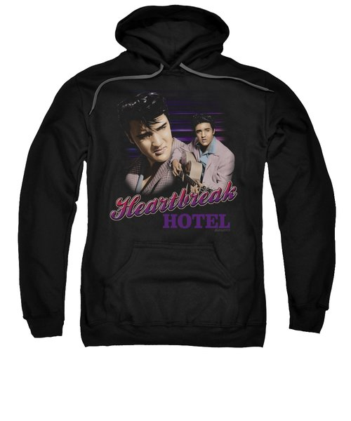 Elvis - Heartbreak Hotel Sweatshirt by Brand A