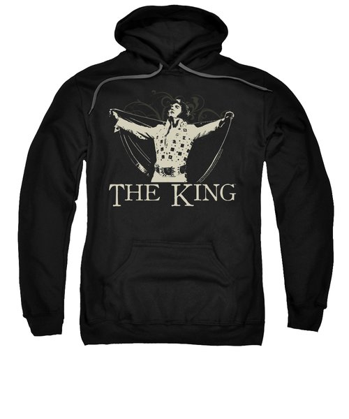 Elvis - Ornate King Sweatshirt by Brand A