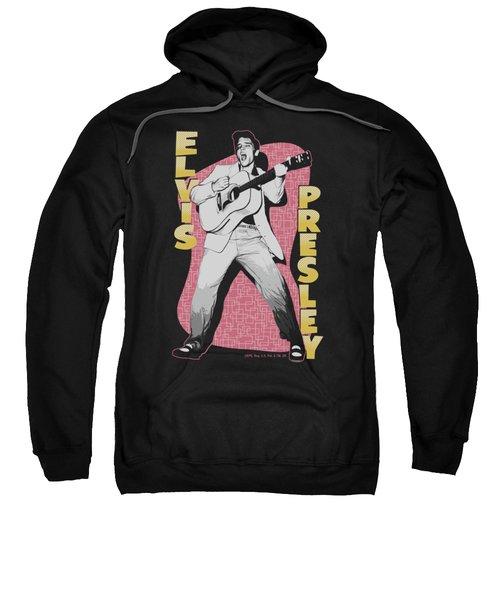 Elvis - Pink Rock Sweatshirt