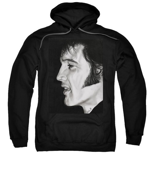 Elvis Presley  The King Sweatshirt