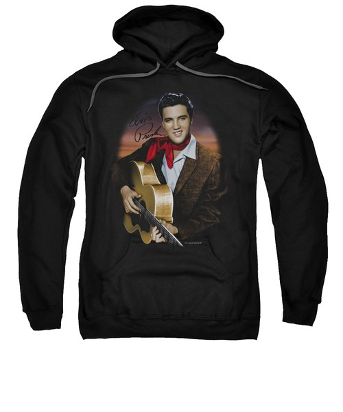 Elvis - Red Scarf #2 Sweatshirt by Brand A