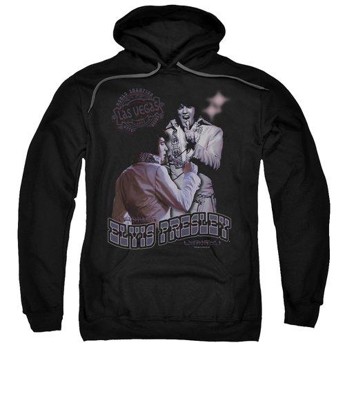 Elvis - Violet Vegas Sweatshirt