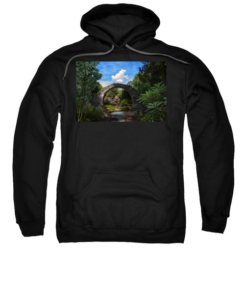 Entering The Garden Gate Sweatshirt