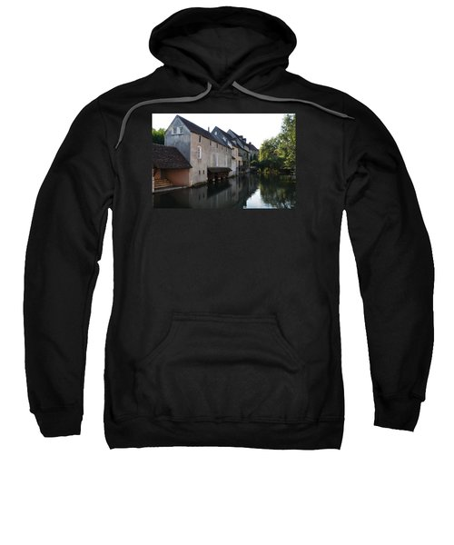 Eure River And Old Fulling Mills In Chartres Sweatshirt