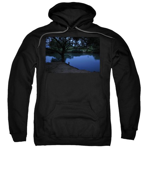 Evening Time At Kfar Blum Sweatshirt