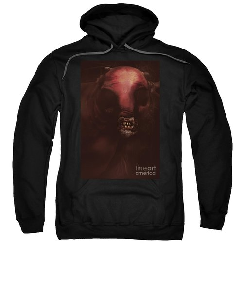 Evil Greek Mythology Minotaur Sweatshirt by Jorgo Photography - Wall Art Gallery