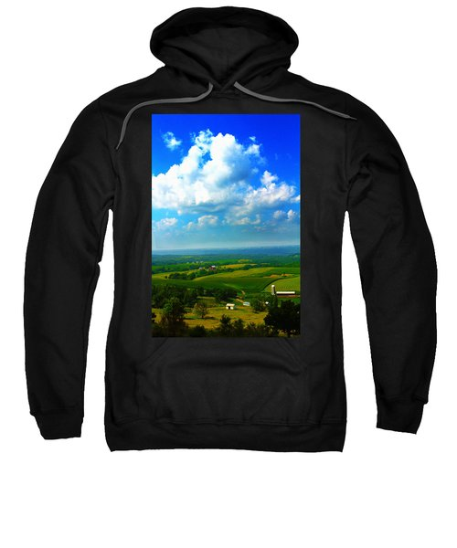 Eyes Over Farmland Sweatshirt