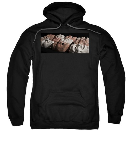 Faces In The Crowd Sweatshirt