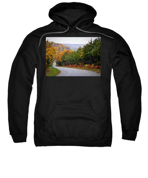 Fall On Fox Hollow Road Sweatshirt