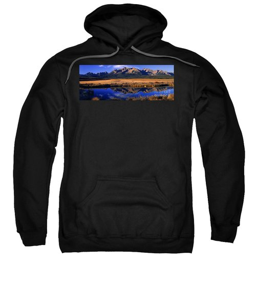 Fall Reflections Sawtooth Mountains Idaho Sweatshirt