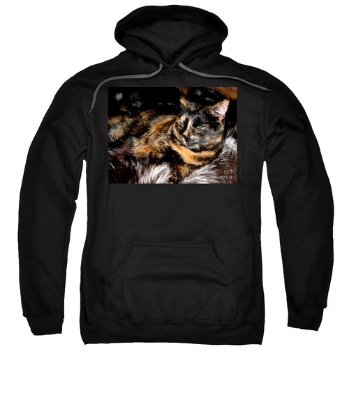 Fancy Cat Sweatshirt