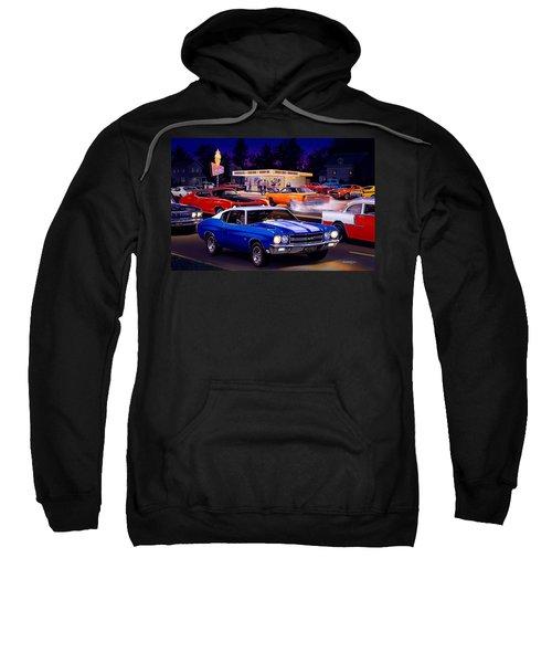 Fast Freds Sweatshirt by Bruce Kaiser